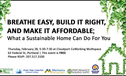Sustainable Home Event Synopsis
