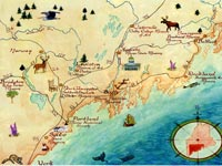 Maine Coastal Maps