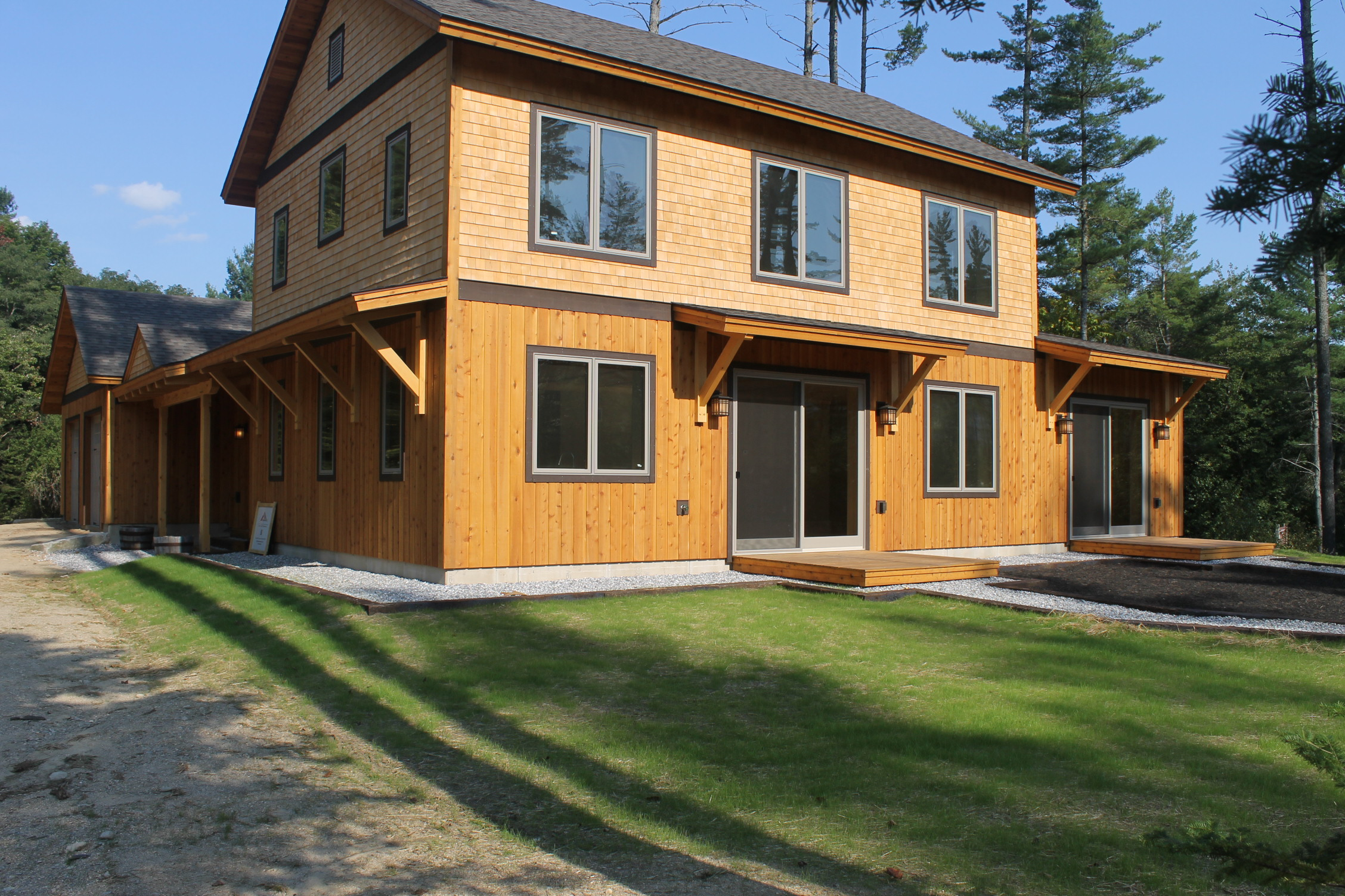 Douglas ridge brunswick maine green building package for Maine home building packages