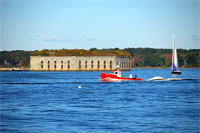 Fort Gorges - Casco Bay