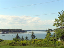 View from Peaks Island, Maine