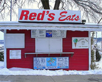Awaiting Spring at Red's